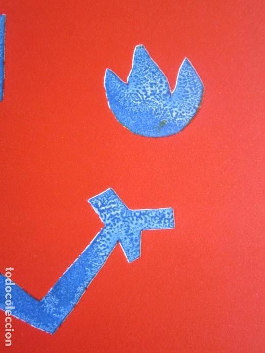 Arte: Devil in Me - Monotipo sobre papel de GAP (Guillermo Antón Pardo) - 25 x 35 cm - Foto 4 - 166657850