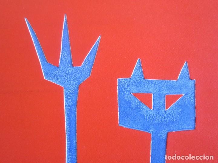 Arte: Devil in Me - Monotipo sobre papel de GAP (Guillermo Antón Pardo) - 25 x 35 cm - Foto 7 - 166657850