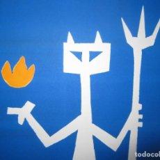 Arte: DEVIL IN ME - MONOTIPO SOBRE PAPEL DE GAP (GUILLERMO ANTÓN PARDO) - 25 X 35 CM. Lote 166657966