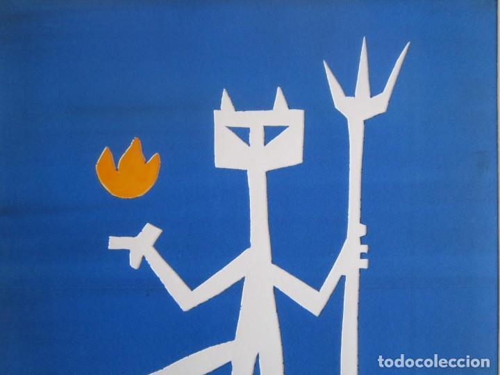 Arte: Devil in Me - Monotipo sobre papel de GAP (Guillermo Antón Pardo) - 25 x 35 cm - Foto 4 - 166657966