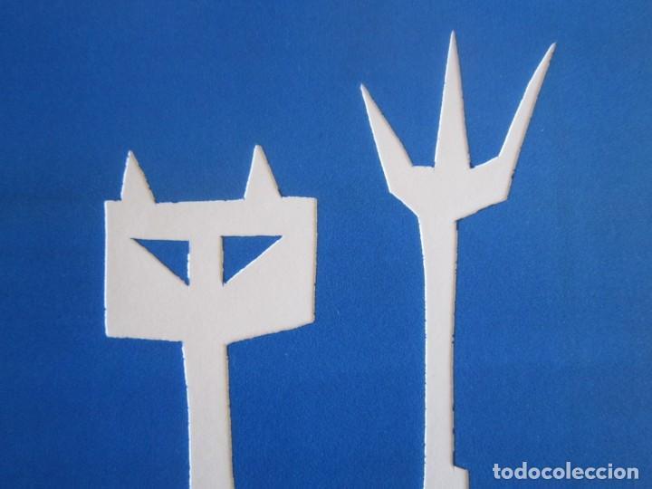 Arte: Devil in Me - Monotipo sobre papel de GAP (Guillermo Antón Pardo) - 25 x 35 cm - Foto 7 - 166657966