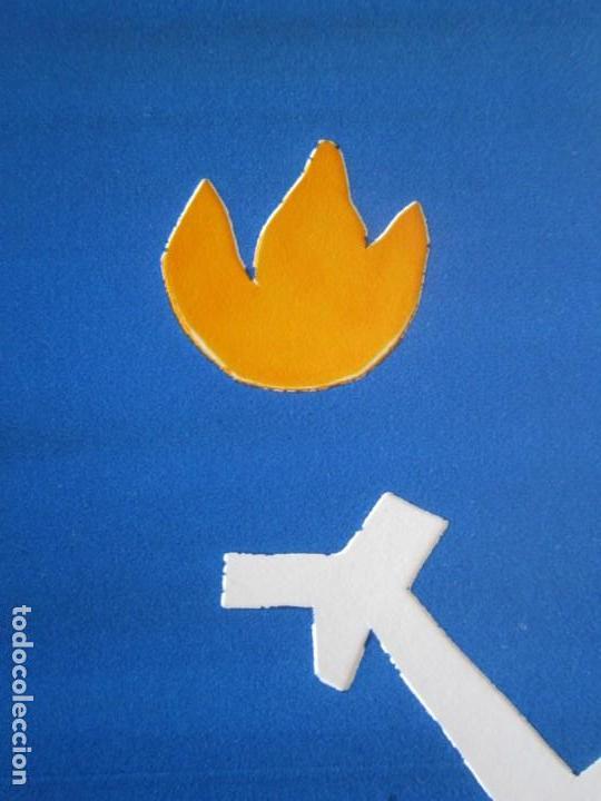 Arte: Devil in Me - Monotipo sobre papel de GAP (Guillermo Antón Pardo) - 25 x 35 cm - Foto 5 - 166657966