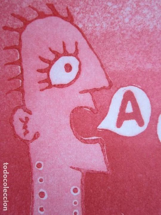 Arte: Malentendido - Grabado al aguatinta de GAP (Guillermo Antón Pardo) - 25 x 35 cm - Foto 5 - 166658714