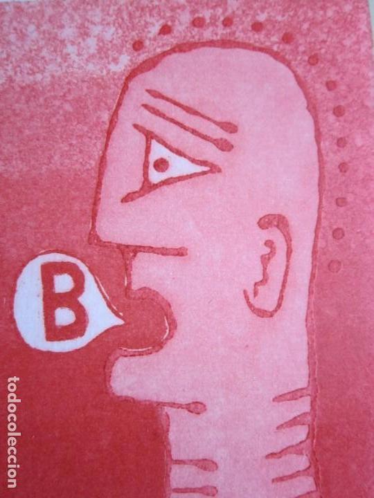 Arte: Malentendido - Grabado al aguatinta de GAP (Guillermo Antón Pardo) - 25 x 35 cm - Foto 6 - 166658714