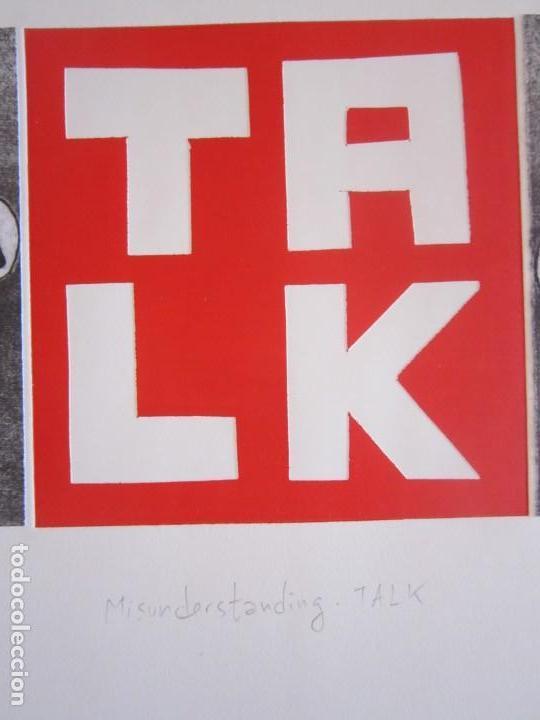 Arte: Malentendido TALK - Collage con aguatinta y monotipo de GAP (Guillermo Antón Pardo) - 35 x 25 cm - Foto 5 - 166661266