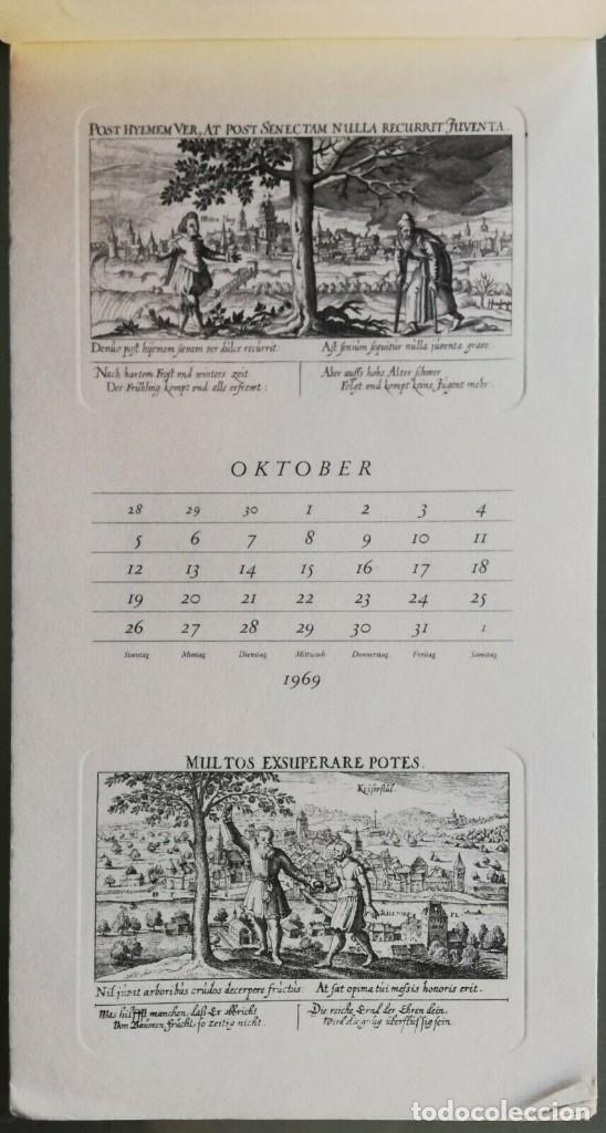 Arte: Calendario Alemán Meissners schatzkästlein. 14 Grabados Daniel Meisner (1585-1625) Adolf Korsch 1969 - Foto 2 - 164797730