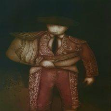 Arte: DIAZDEL (MÁLAGA 1954), MAGNIFICO GRABADO AGUAFUERTE FIRMADO.. Lote 167159126