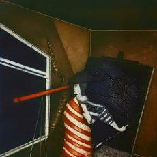 Arte: LORENZO SAVAL (CHILE 1953) MAGNIFICO GRABADO AGUAFUERTE FIRMADO.. Lote 167159489