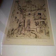 Arte: GRABADO LEMOINE, ENMARCADO Y NUMERADO, , PRINCIPIOS SIGLO XX, VER. FOTOS.. Lote 167573669