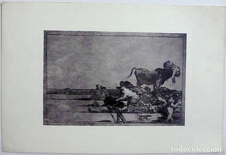 Arte: GRABADO TAUROMAQUIA GOYA - Foto 2 - 167947240