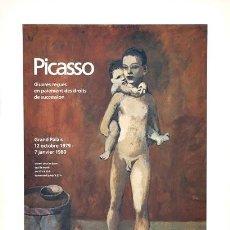 Arte: PABLO PICASSO - LE DEUX FRERES. 1906 (PRINTED 1980) PÓSTER - FRANCIA. Lote 168128276