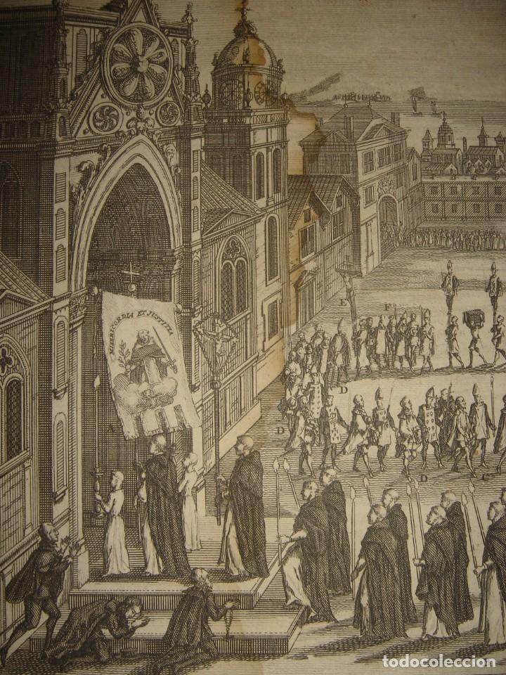 Arte: GRABADO PROCESIÓN DE HEREJES EN GOA, INDIA, INQUISICIÓN PORTUGUESA, PICART, ORIGINAL, PARIS, 1809 - Foto 3 - 168209208