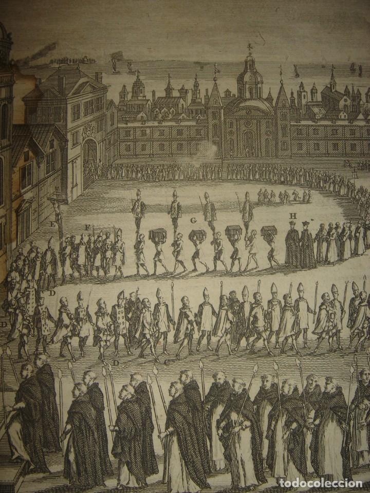 Arte: GRABADO PROCESIÓN DE HEREJES EN GOA, INDIA, INQUISICIÓN PORTUGUESA, PICART, ORIGINAL, PARIS, 1809 - Foto 4 - 168209208