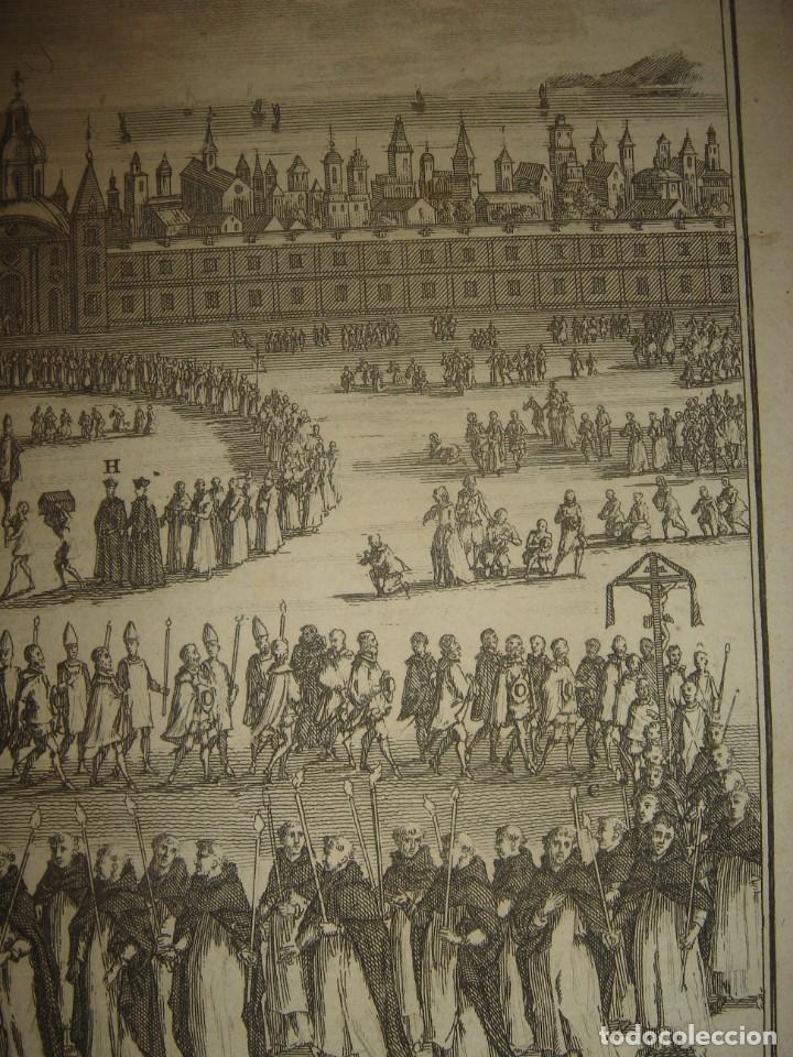 Arte: GRABADO PROCESIÓN DE HEREJES EN GOA, INDIA, INQUISICIÓN PORTUGUESA, PICART, ORIGINAL, PARIS, 1809 - Foto 5 - 168209208