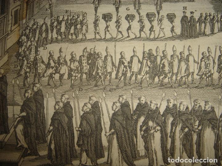 Arte: GRABADO PROCESIÓN DE HEREJES EN GOA, INDIA, INQUISICIÓN PORTUGUESA, PICART, ORIGINAL, PARIS, 1809 - Foto 6 - 168209208