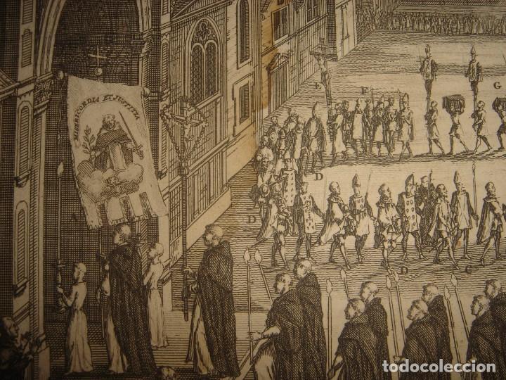 Arte: GRABADO PROCESIÓN DE HEREJES EN GOA, INDIA, INQUISICIÓN PORTUGUESA, PICART, ORIGINAL, PARIS, 1809 - Foto 7 - 168209208