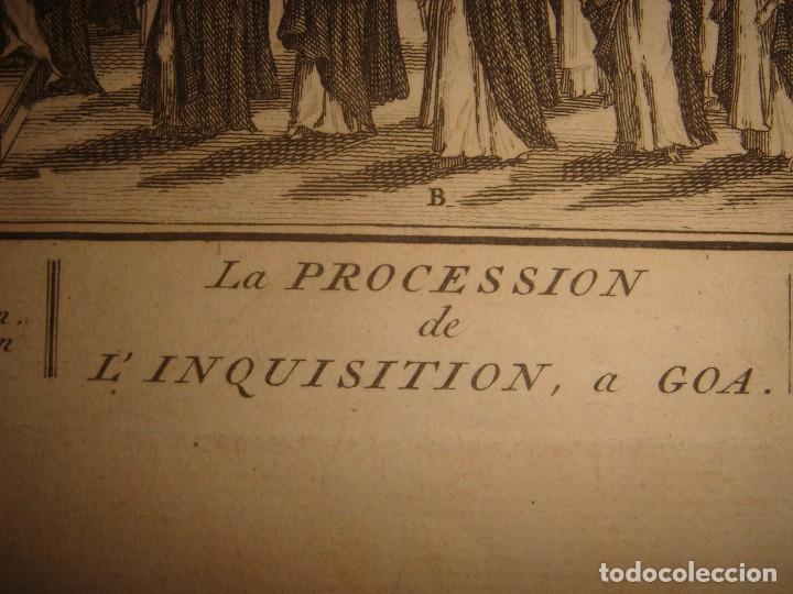 Arte: GRABADO PROCESIÓN DE HEREJES EN GOA, INDIA, INQUISICIÓN PORTUGUESA, PICART, ORIGINAL, PARIS, 1809 - Foto 8 - 168209208