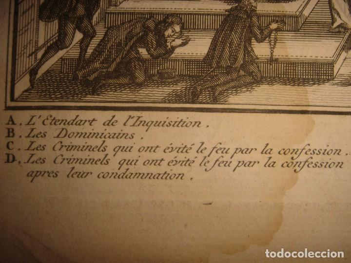 Arte: GRABADO PROCESIÓN DE HEREJES EN GOA, INDIA, INQUISICIÓN PORTUGUESA, PICART, ORIGINAL, PARIS, 1809 - Foto 9 - 168209208