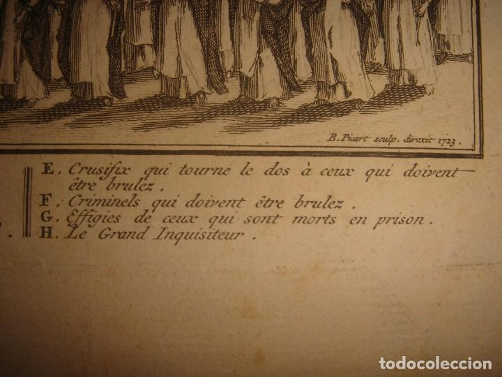 Arte: GRABADO PROCESIÓN DE HEREJES EN GOA, INDIA, INQUISICIÓN PORTUGUESA, PICART, ORIGINAL, PARIS, 1809 - Foto 10 - 168209208
