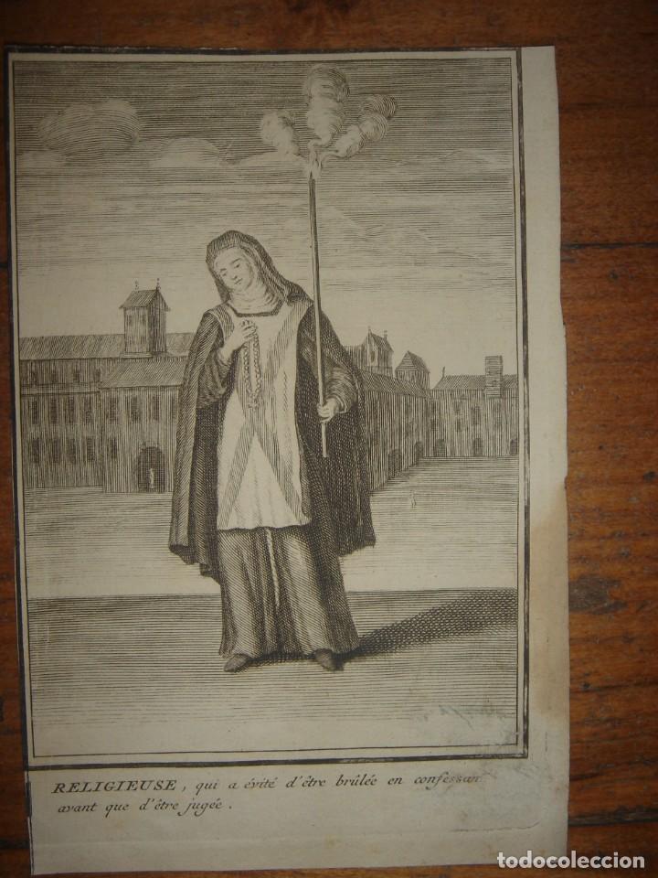 Arte: ESPLÉNDIDO LOTE 6 GRABADOS, HEREJES, INQUISICIÓN ESPAÑOLA, PICART, ORIGINAL,PARIS, 1809,GRAN PRECIO - Foto 6 - 168224912