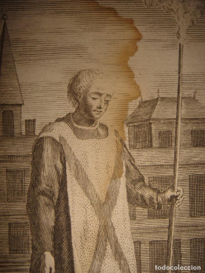 Arte: ESPLÉNDIDO LOTE 6 GRABADOS, HEREJES, INQUISICIÓN ESPAÑOLA, PICART, ORIGINAL,PARIS, 1809,GRAN PRECIO - Foto 9 - 168224912