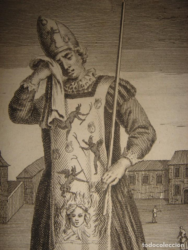 Arte: ESPLÉNDIDO LOTE 6 GRABADOS, HEREJES, INQUISICIÓN ESPAÑOLA, PICART, ORIGINAL,PARIS, 1809,GRAN PRECIO - Foto 10 - 168224912