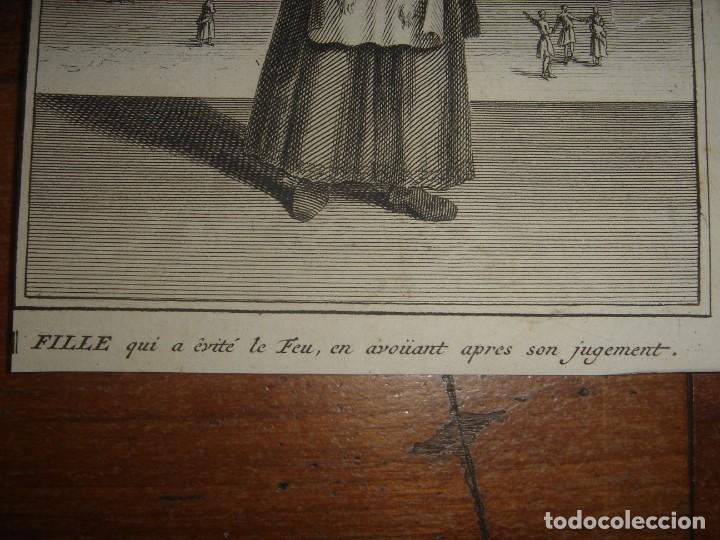 Arte: ESPLÉNDIDO LOTE 6 GRABADOS, HEREJES, INQUISICIÓN ESPAÑOLA, PICART, ORIGINAL,PARIS, 1809,GRAN PRECIO - Foto 14 - 168224912