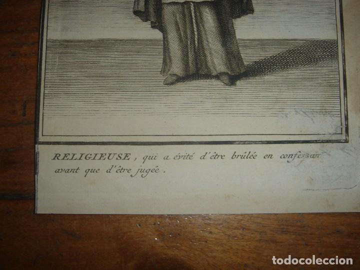 Arte: ESPLÉNDIDO LOTE 6 GRABADOS, HEREJES, INQUISICIÓN ESPAÑOLA, PICART, ORIGINAL,PARIS, 1809,GRAN PRECIO - Foto 18 - 168224912