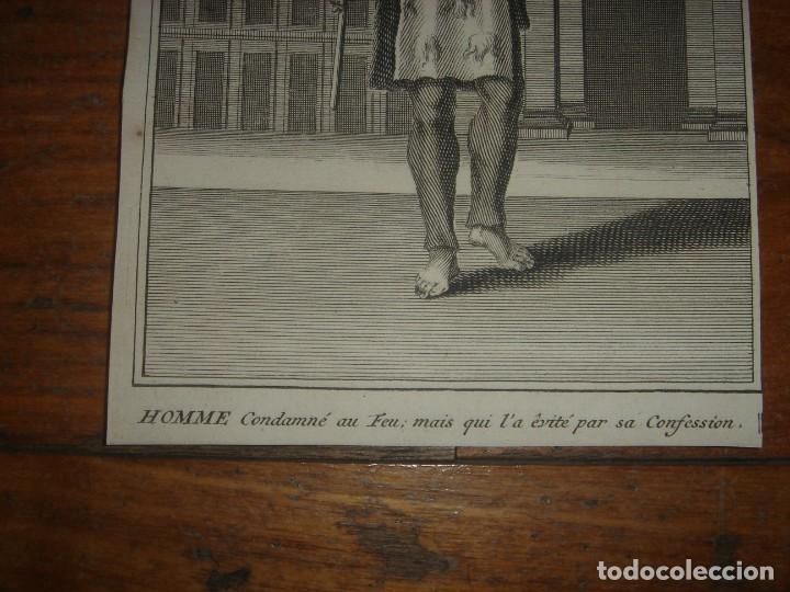 Arte: ESPLÉNDIDO LOTE 6 GRABADOS, HEREJES, INQUISICIÓN ESPAÑOLA, PICART, ORIGINAL,PARIS, 1809,GRAN PRECIO - Foto 19 - 168224912