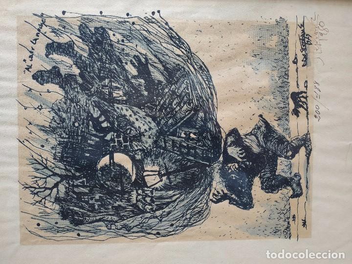 Arte: DIBUJO GRABADO - Foto 3 - 168256504