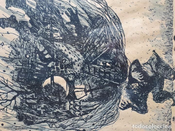 Arte: DIBUJO GRABADO - Foto 4 - 168256504