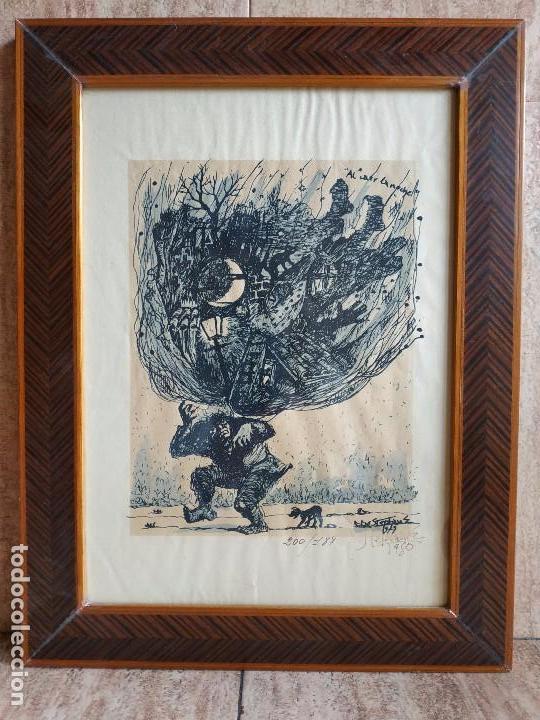 DIBUJO GRABADO (Arte - Grabados - Contemporáneos siglo XX)