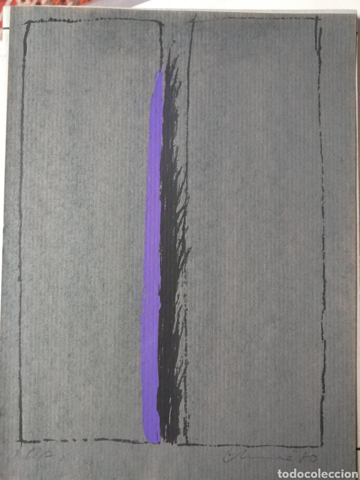 SERIGRAFÍA JUAN USLÉ (Arte - Grabados - Contemporáneos siglo XX)
