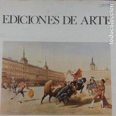 Arte: REPRODUCCION GRABADOS ANTIGUOS EDICIONES DE ARTE GALERIAS APOLLO BRUSELAS CARPETA + 5 LAMINAS 45X33. Lote 168286804