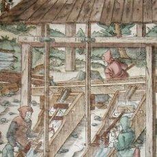 Arte: LAVADO DEL ORO VII, 1557. AGRÍCOLA. Lote 168515892