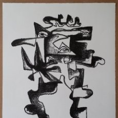 Arte: OSSIP ZADKINE, LITOGRAFÍA FIRMADA Y NUMERADA A LÁPIZ, PARÍS, 1966. Lote 128236263