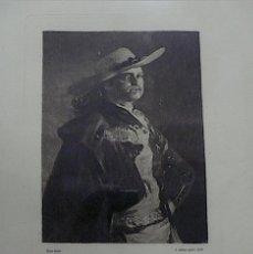 Arte: GOYA GRABADO EL TORERO. Lote 168725236