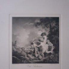 Arte: THE AUTUMN. GRABADO. S.XIX.. Lote 168763916
