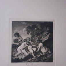 Arte: THE SUMMER. GRABADO. S.XIX.. Lote 168763950