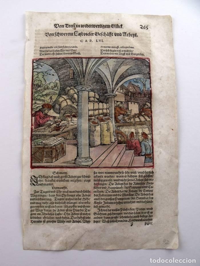 Arte: La casa del comerciante y caminantes , 1532. Hans Weiditz - Foto 2 - 168975180
