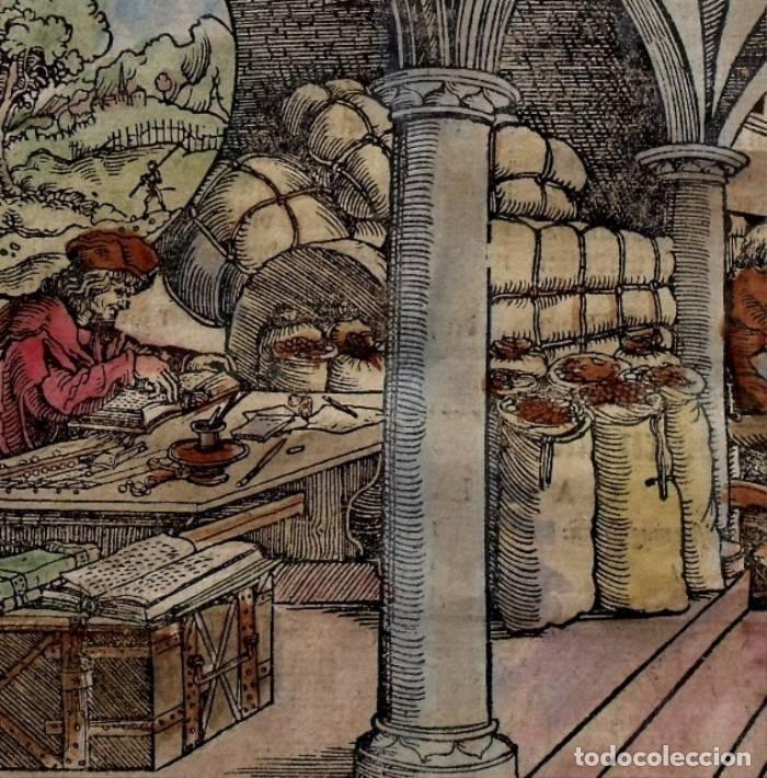 Arte: La casa del comerciante y caminantes , 1532. Hans Weiditz - Foto 3 - 168975180