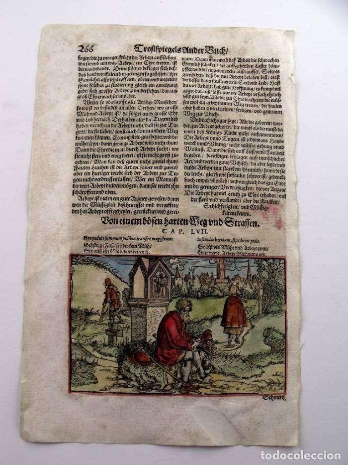 Arte: La casa del comerciante y caminantes , 1532. Hans Weiditz - Foto 4 - 168975180