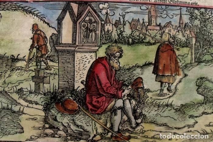 Arte: La casa del comerciante y caminantes , 1532. Hans Weiditz - Foto 5 - 168975180
