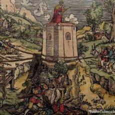 Arte: EL REY EN SU TORRE DE MARFIL, 1532. HANS WEIDITZ. Lote 168976165