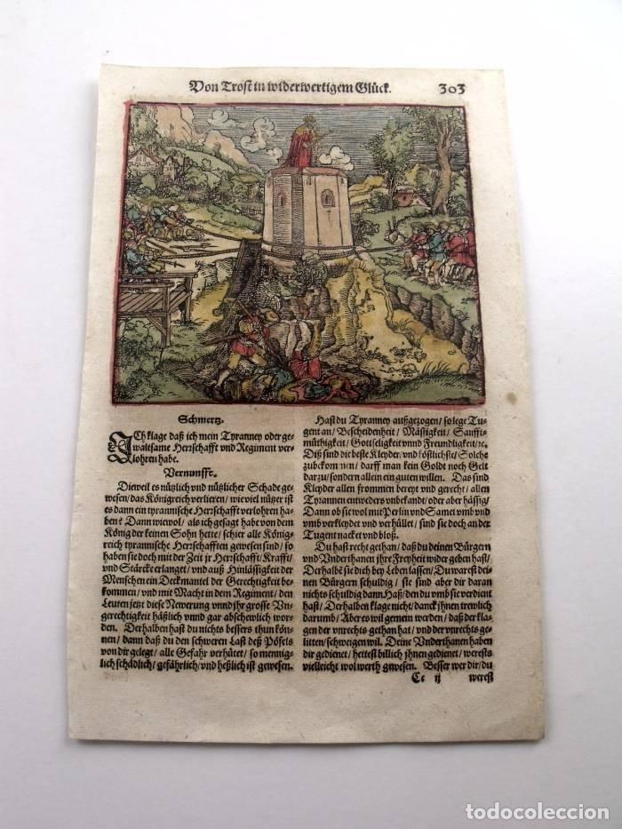 Arte: El rey en su torre de marfil, 1532. Hans Weiditz - Foto 2 - 168976165