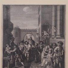 Arte: TANJE- COYPEL: ENTRADA DE SANCHO EN BARATARIA / QUIJOTE / 1750. Lote 168990528