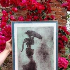 Arte: GRABADO CONTEMPORÁNEO (CROMOXILOGRAFÍA), ANA VILA . Lote 169895588