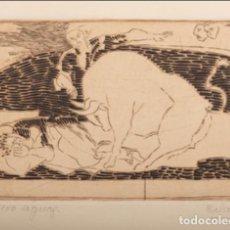 Arte: GRABADO DEL ARTISTA DE NAVARRA, ANTONIO ESLAVA. Lote 169929324