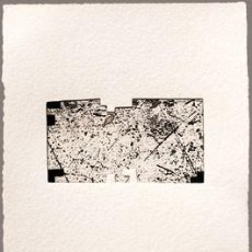 Arte: AGUAFUERTE EDUARDO CHILLIDA - FIRMADO POR EL ARTISTA. Lote 170125384