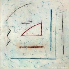 Arte: RÀFOLS CASAMADA - GRABADO SOBRE PAPEL -. Lote 170291956